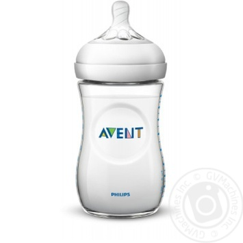 Бутылочка Avent Natural 260мл - купить, цены на Ашан - фото 1