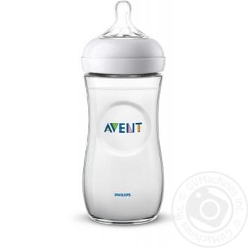 Бутылочка Avent Natural 330мл - купить, цены на Ашан - фото 1
