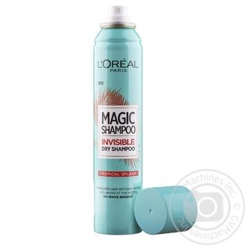 Шампунь L'Oreal Magic Shampoo Экзотика тропиков невидимый сухой 200мл - купить, цены на Novus - фото 3