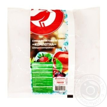 Auchan Compote mixture fruit and berry quick-frozen 400g - buy, prices for Auchan - photo 1