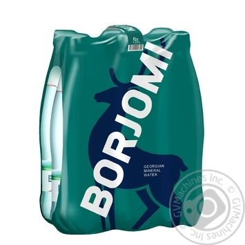 Вода Borjomi минеральная лечебно-столовая сильногазированная  пластиковая бутылка 1,25л - купить, цены на Метро - фото 2