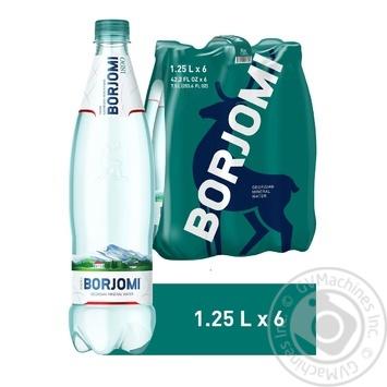 Вода Borjomi мінеральна лікувально-столова сильногазована пластикова пляшка 1,25л - купити, ціни на Метро - фото 3