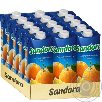 Сок Sandora апельсиновый 500мл - купить, цены на Восторг - фото 2
