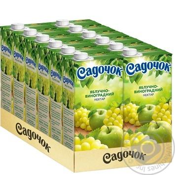 Нектар Садочок яблочно-виноградный 0,95л - купить, цены на МегаМаркет - фото 3