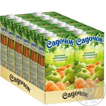 Sadochok Apple-carrot Juice 0.95l - buy, prices for Novus - image 3