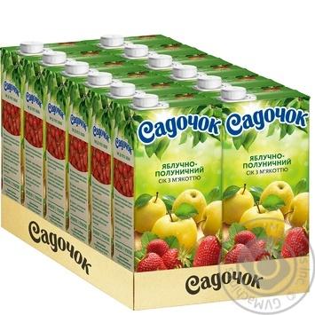 Сок Садочок яблочно-клубничный 0,95л - купить, цены на Фуршет - фото 4