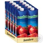 Сок Sandora томатный с солью 950мл - купить, цены на Novus - фото 2