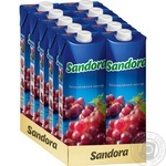 Нектар Sandora червоного винограду 950мл - купити, ціни на МегаМаркет - фото 2