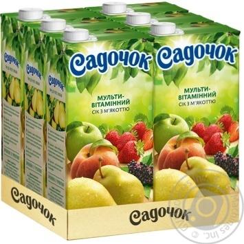 Sadochok multivitamin juice 1,93l - buy, prices for Novus - image 3