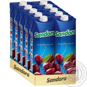 Нектар Sandora вишневий 950мл - купити, ціни на Novus - фото 2