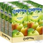 Нектар Садочок яблучний 1,93л - купити, ціни на Метро - фото 3