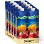 Сік Sandora овочевий 950мл - купити, ціни на МегаМаркет - фото 2