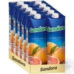 Нектар Sandora грейпфрутовий 950мл - купити, ціни на МегаМаркет - фото 2