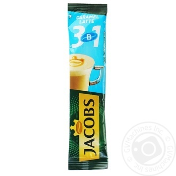 Beverage Jacobs with coffee instant 12.3g stick sachet - buy, prices for MegaMarket - image 1