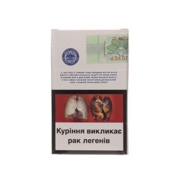 Сигареты Bond Street Silver Selection - купить, цены на Фуршет - фото 4