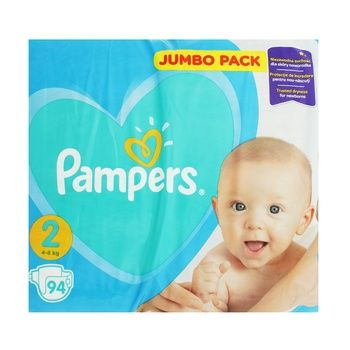 Подгузники Pampers New Baby 2 4-8кг 94шт - купить, цены на Ашан - фото 7