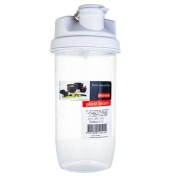 Шейкер Plast Team 0,5л - купить, цены на СитиМаркет - фото 1