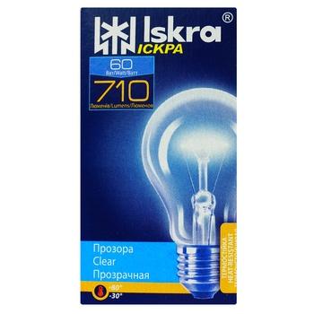 Лампа Искра А50 60Вт Е27 - купить, цены на Восторг - фото 1