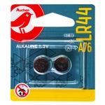 Auchan Alkaline Batteries LR44 A76 1.5V 2pc