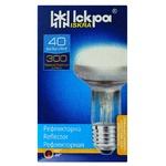 Лампа Іскра електрична прозора рефлекторна R63 40Вт Е27