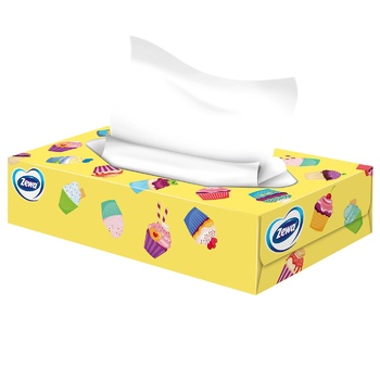 Zewa Everyday Napkins cosmetic 2 layers of 100 pieces - buy, prices for CityMarket - photo 2