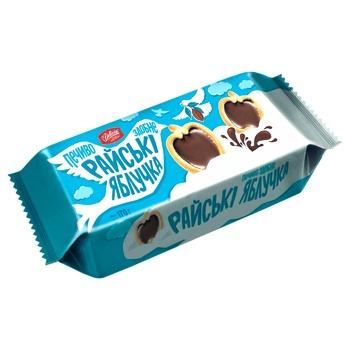 Печенье Делиция Райские яблочки сдобное 170г - купить, цены на Ашан - фото 2