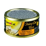 GimCat ShinyCat Filet Wet Food with Chicken and Mango for Cats 70g