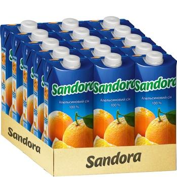 Сік Sandora апельсиновий 0,5л - купити, ціни на Фуршет - фото 2