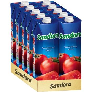Сок Sandora томатный с солью 0,95л - купить, цены на Ашан - фото 2