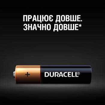 Батарейки Duracell AAA щелочные 2шт - купить, цены на Ашан - фото 3