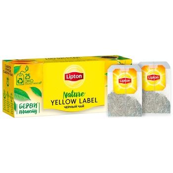 Lipton Yellow Label Sunshine Tea 25pcs*2g - buy, prices for CityMarket - photo 2