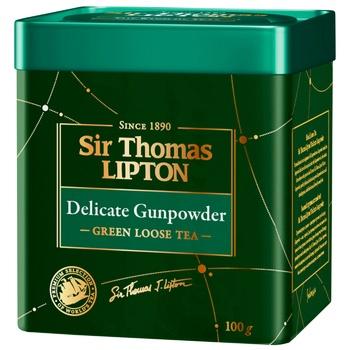 Lipton Yellow Sir Thomas green tea 100g - buy, prices for CityMarket - photo 1