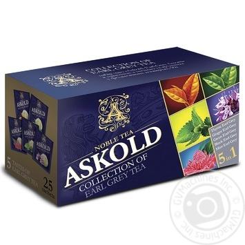 Tea Askold Earl grey black packed 25pcs 50g - buy, prices for Novus - image 1