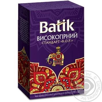 Batik Black Fine Tea 100g - buy, prices for MegaMarket - image 1