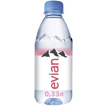 Still natural mineral water Evian 0,33l - buy, prices for Furshet - image 1