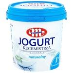 Йогурт Mlekovita натуральный 3% 1кг