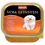 Animonda Vom Feinsten Adult Rabbit Wet Food for Dogs 150g