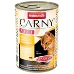 Корм Animonda Carny Adult курица-утка влажный для кошек 400г