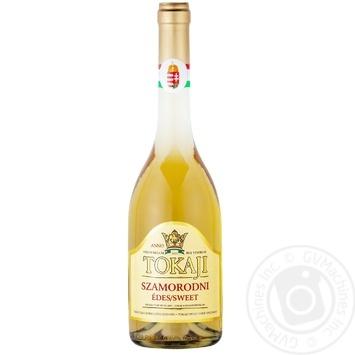 Вино Chateau Dereszla Tokaji Szamorodni біле солодке 12% 0.5л - купити, ціни на CітіМаркет - фото 1