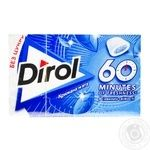Dirol 60 minutes with mint chewing gum 18g