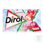 Dirol X-fresh freshness of watermelon chewing gum 18g