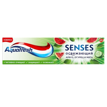 Зубная паста Aquafresh Senses освежающий 75мл