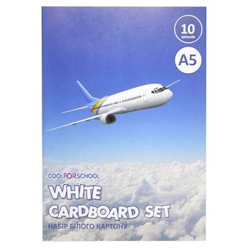 Набор белого картона CFS А5 CF21001-02
