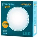 Светильник Crystal Gold Led Koral-15 15W 6500K DNL-030