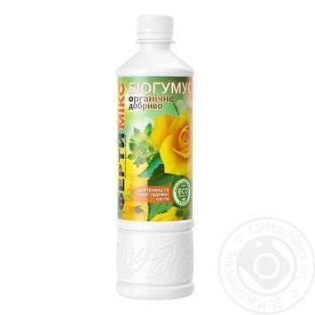Удобрение Фертимикс Биогумус для роз и и садовых цветов 570мл