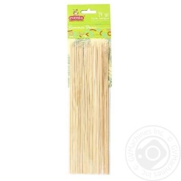 Палички Eventa бамбукові 24шт/уп - купити, ціни на Фуршет - фото 1