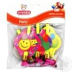 Дудки-язычки Eventa пластиковые с декором 6шт - купить, цены на Novus - фото 1