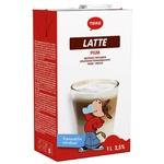 Молоко Tere Латте ультрапастеризоване без глютену 2,5% 1л