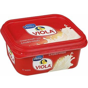 Сир плавлений Валіо Віола Вершковий 60% 400г - купити, ціни на Ашан - фото 1