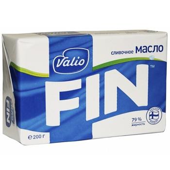 Масло Valio вершкове 79% 200г